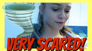 ?TORNADO PREPARATION? |? VERY SCARY? | Emma & Ellie