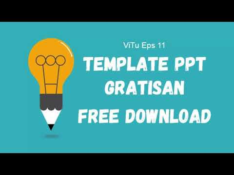 Vitu 11 - Template PPT Gratisan Free Download