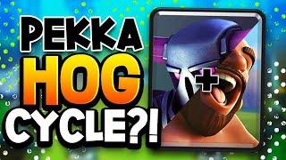 PEKKA HOG CYCLE?!?! Pro DESTROYS LADDER! This DECK is NUTS!