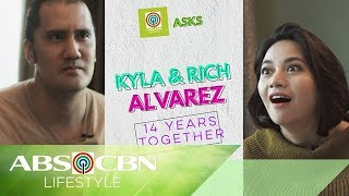 Kyla And Rich Alvarez On Their First Kiss, First Trip, And Other Firsts! | #PillowTalk