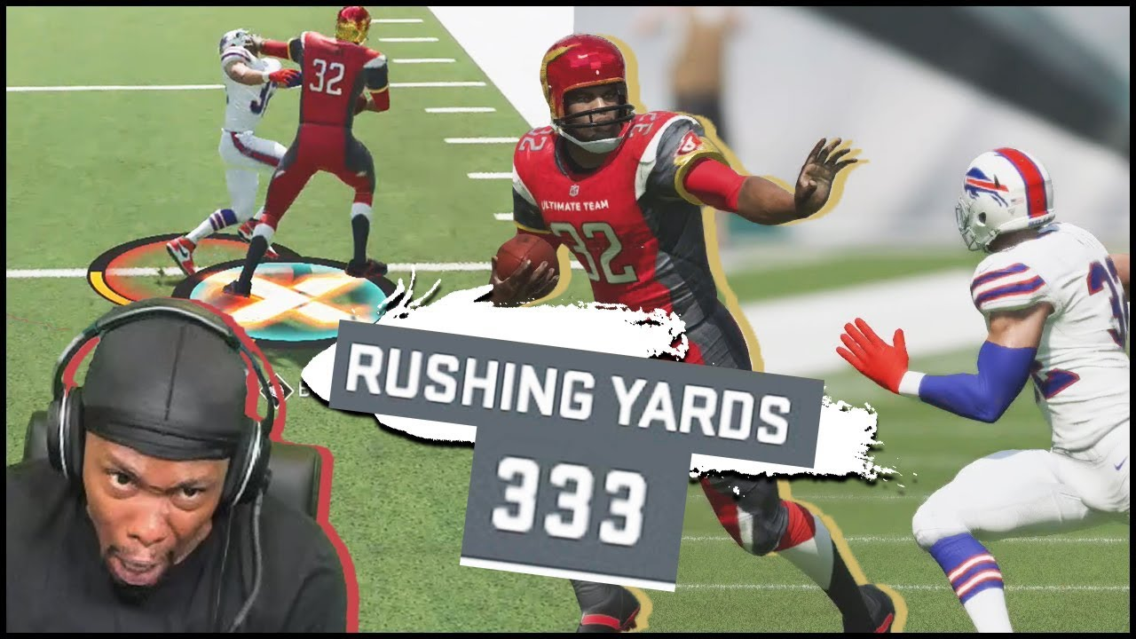 Trolling Kids W Jim Browns Glitched Armbar Ability Insane Rushing Yards Madden 20