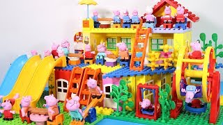 Lego House With Water Slide Building Toys - Lego Creations Toys For Kids #4