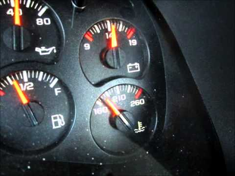 Chevy 4 3l V6 Temp Gauge Problem