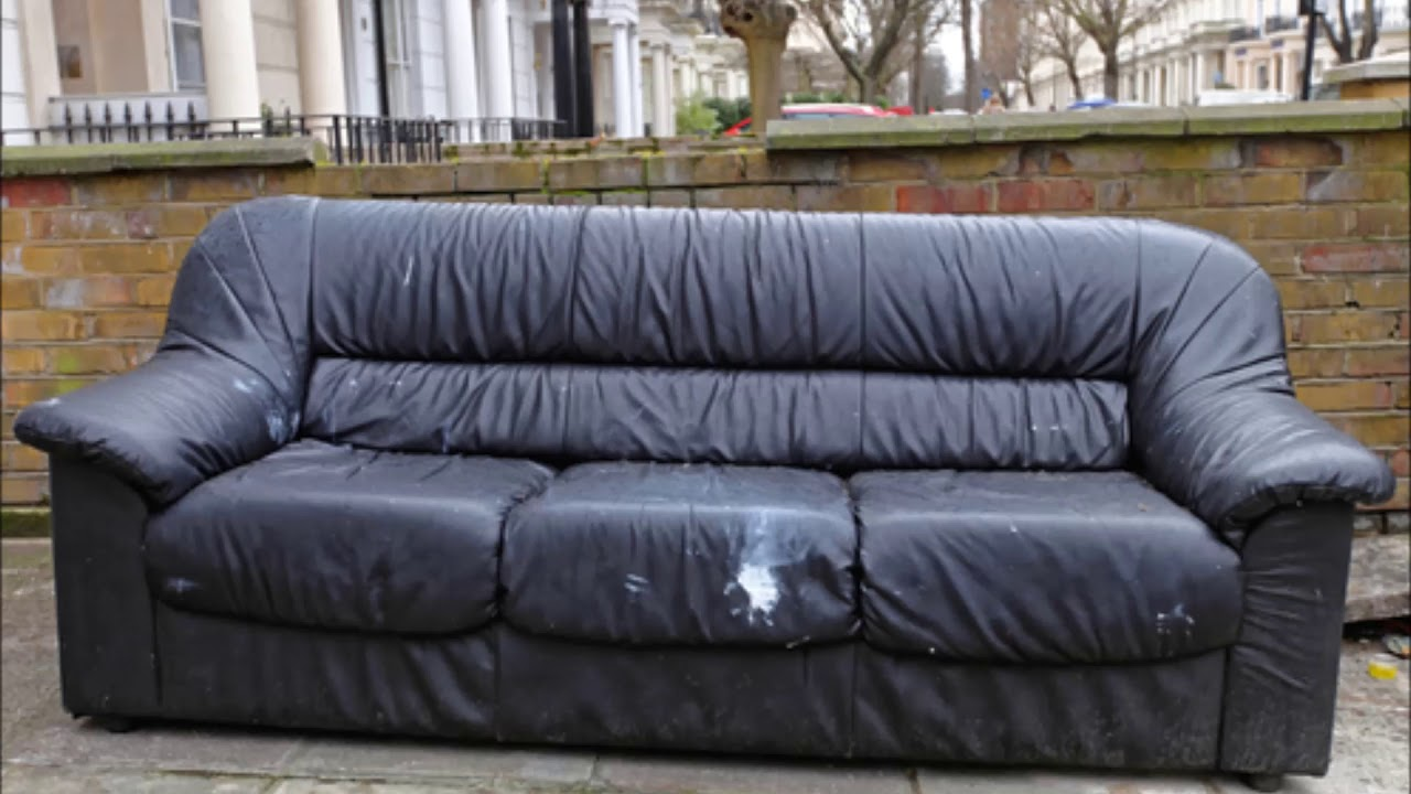Old Couch Removal Bellevue Couch Sofa Section Hide Away Bed Removal Service  | Omaha Junk Removal