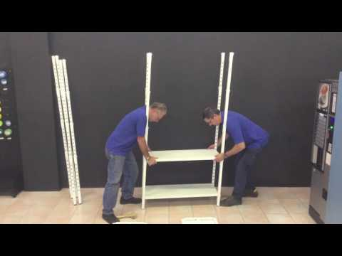 Uno   Metal storage shelves   Assembly instructions