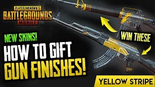 HOW TO GIFT & GET NEW GUN SKINS! PUBG Mobile (Giveaway Included)
