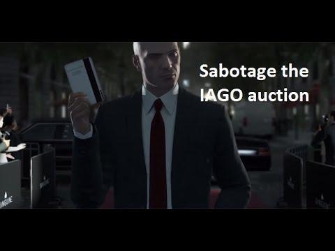 Hitman sabotage IAGO auction