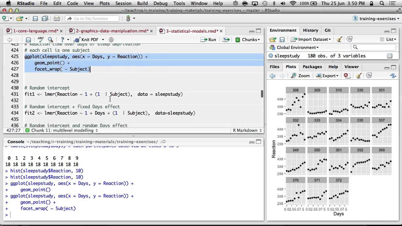 4 1: Logistic Regression and Multilevel Models - Introduction to R Workshop