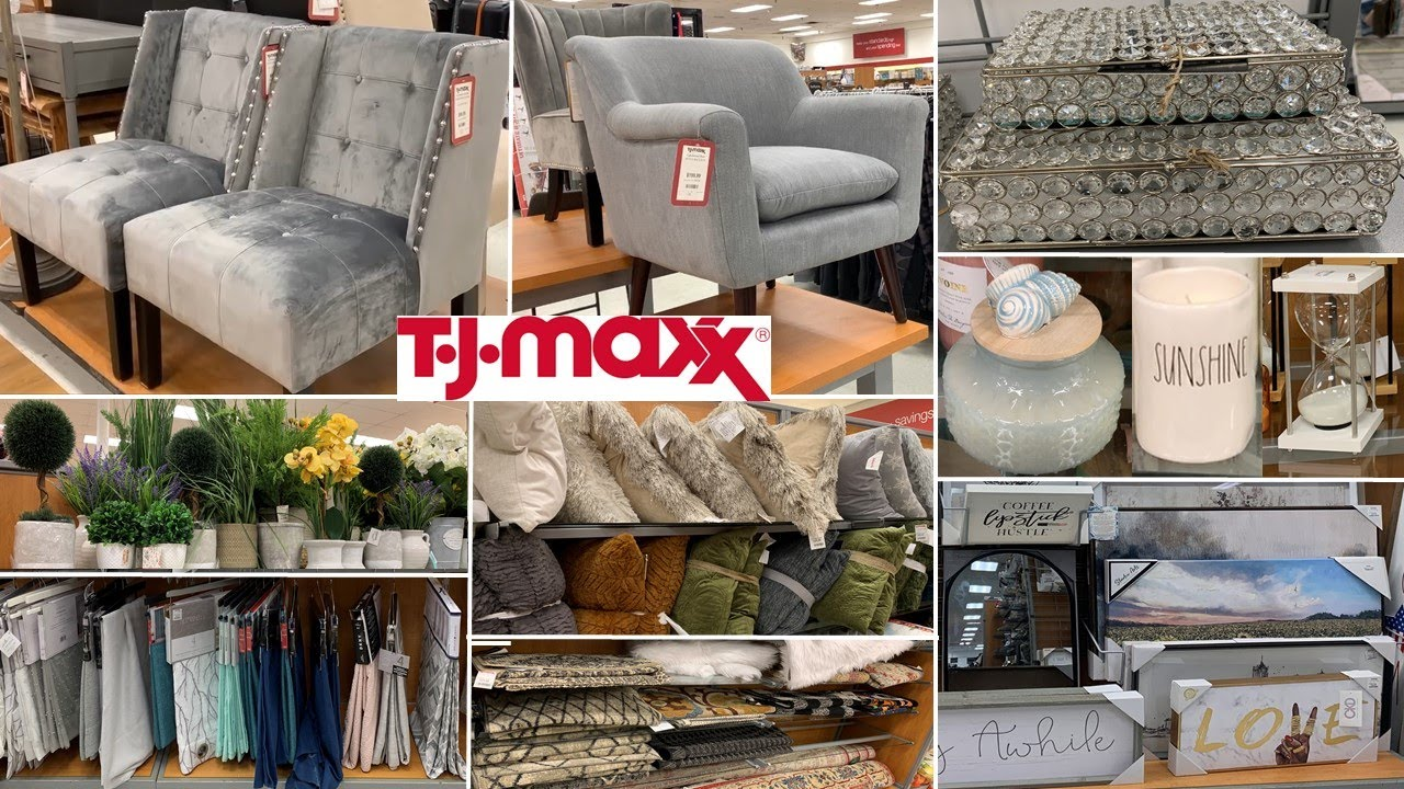 TJ Maxx Furniture & Home Decor | Shop With Me 2021