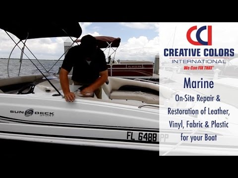 Marine and Boat Upholstery Repair   We Can Fix That!