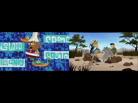 SpongeBob SquarePants And Wild Kratts Theme Song Mix