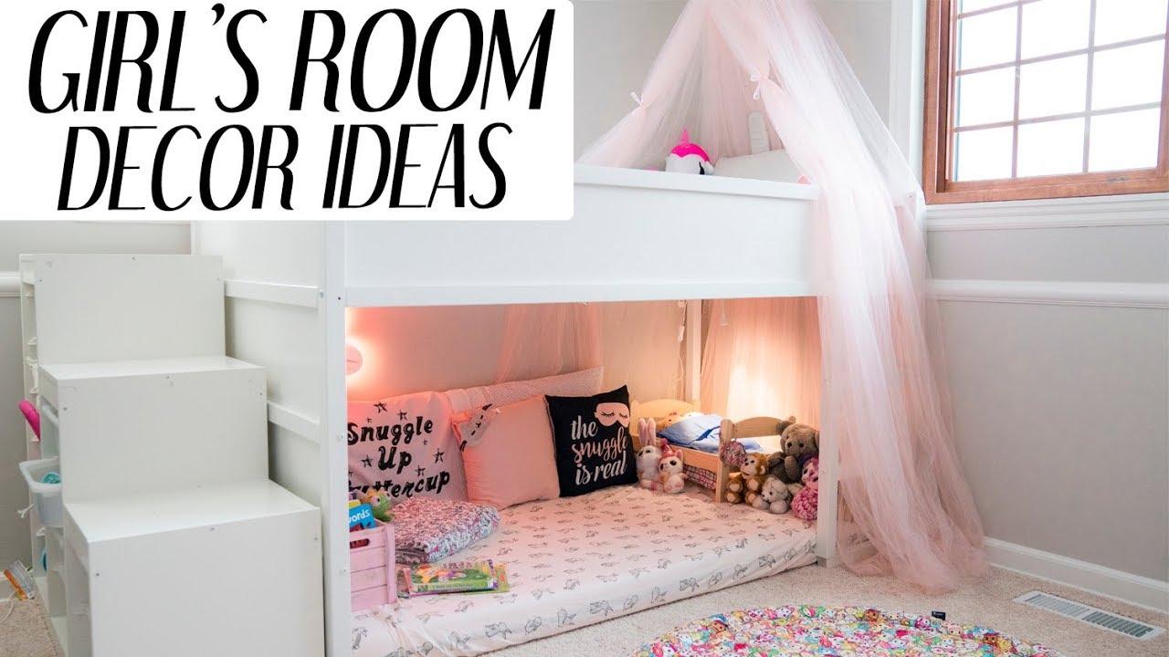 Kids Room Decor Ideas For Girls l xolivi - YouTube