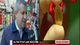 ALB Forex Altın ve Emtia Piyasası Müdürü Volkan Kuğucuk piyasaları değerlendirdi. Ülke TV