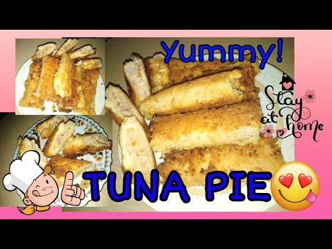 How To Make Tuna Pie/Tuna Bread Roll / Quick And Easy- Lhorsef🙋