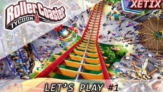 rollercoaster tycoon 3 gameplay espaol parte 1
