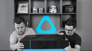Mi van a dobozban? | HTC Vive #1: Unboxing