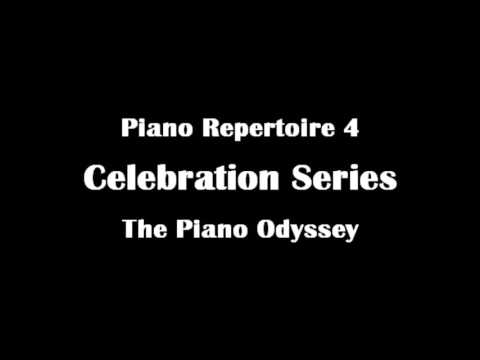 Piano Repertoire 4 - Celebration Series: The Piano Odyssey - Entire Book (Audio)