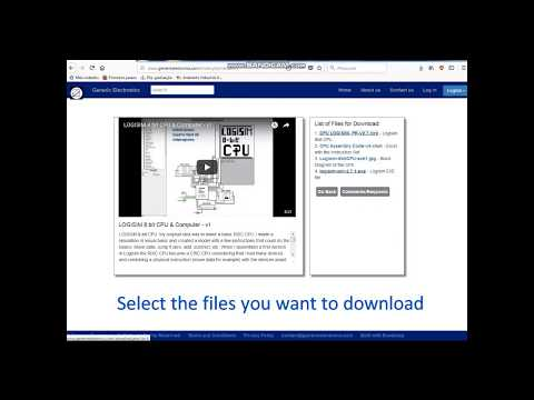 Download Of Project Files