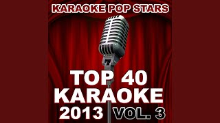 This Is What It Feels Like (In the Style of Armin Van Buuren & Trevor Guthrie) (Karaoke Version)