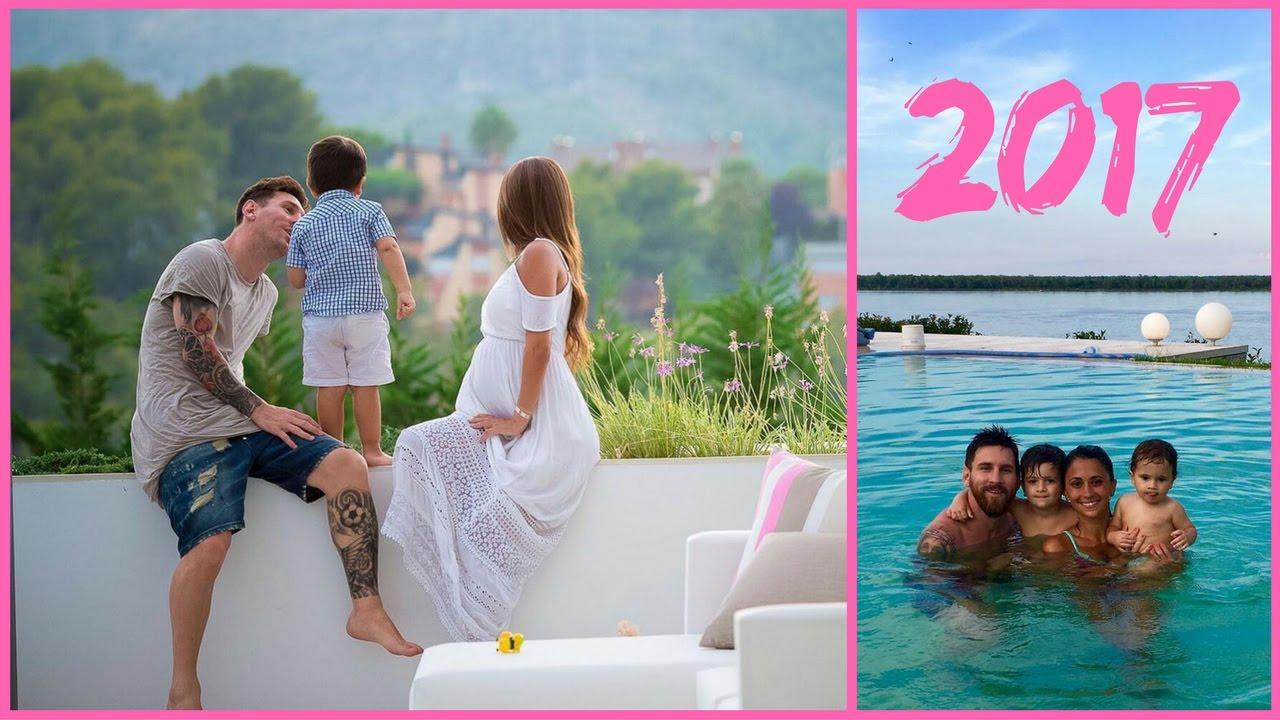 Lionel Messi Wife and Son 2017 - Antonella Roccuzzo ...