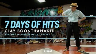 Clay Teaches You How To Hit In 7 Days   Only On STEEZY.CO