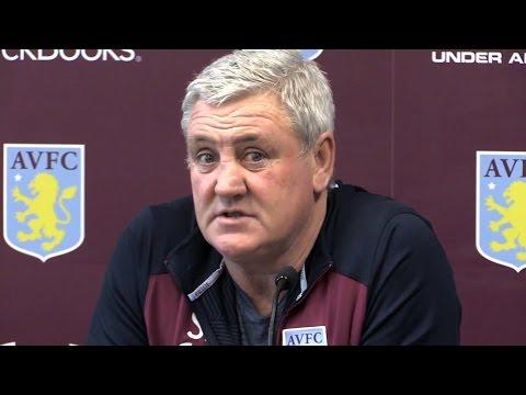 Steve Bruce Pre-Match Press Conference - Rotherham v Aston Villa