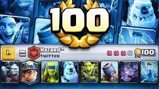 World Record 100 WINS in Global Tournament! INSANE!