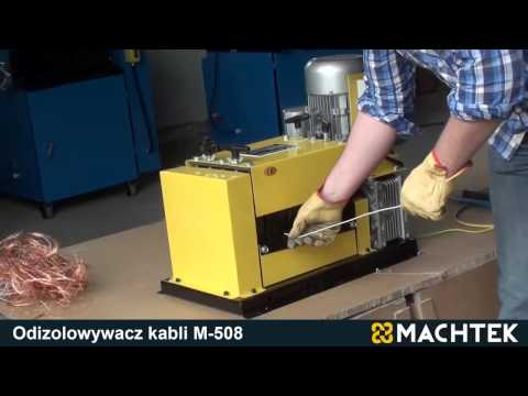 Cable Stripper MACHTEK M-508 compact electric cable recycling machine