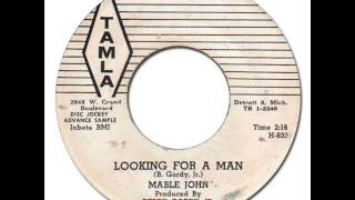 MABLE JOHN - Looking For A Man [Tamla 54040] 1961 Early Motown R&B Popcorn
