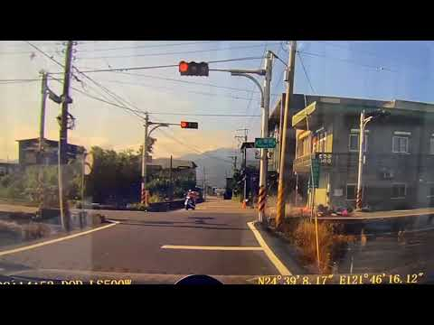 只示範一次 三寶無視紅綠燈 鄉間小路自殺攻擊
