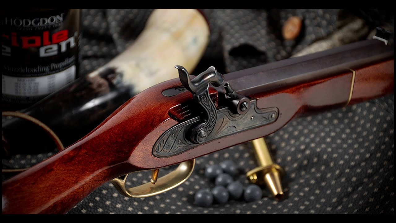 Building the Traditions Firearms Kentucky Rifle