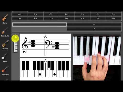 Chords Maestro Lite - iPad app preview - YouTube