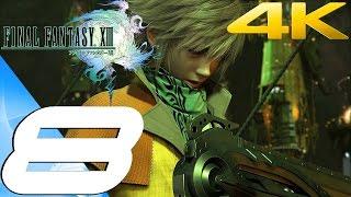 Final Fantasy XIII - Walkthrough Part 8 - Devasted Dreams [4K 60FPS]