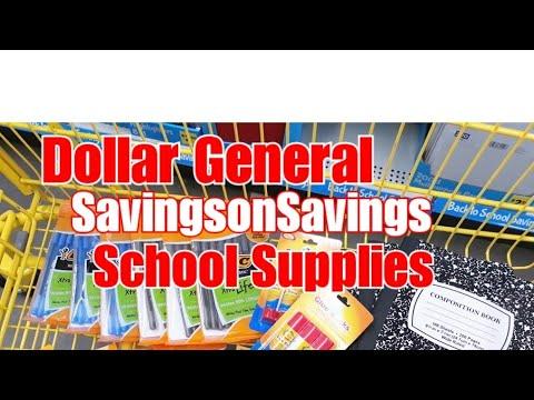 Dollar General || Cheap School Supplies || Easy Deal