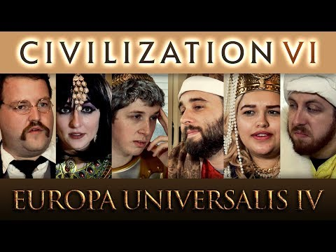 Civilization 6 VS Europa Universalis 4
