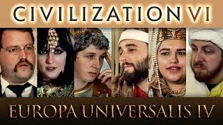 Civilization 6 VS Europa Universalis 4