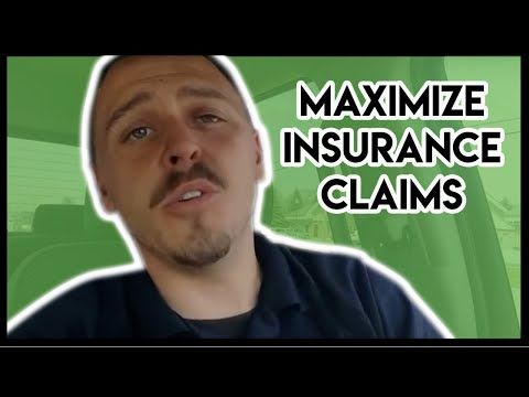 How to maximize storm damage claims