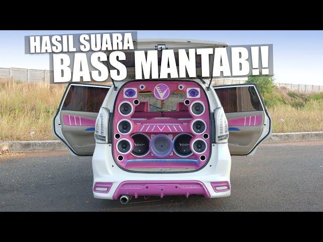 Audio Mobil Daihatsu Xenia - Buat Pecinta Bass | Venom Audio