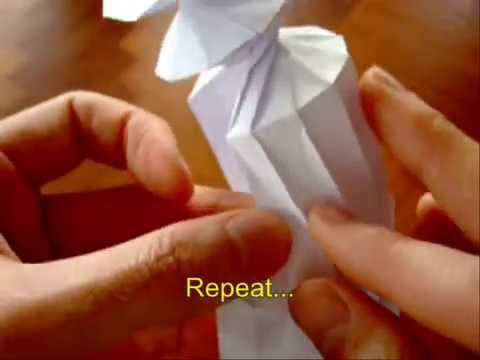 How To Spring Into Action Origami Youtube