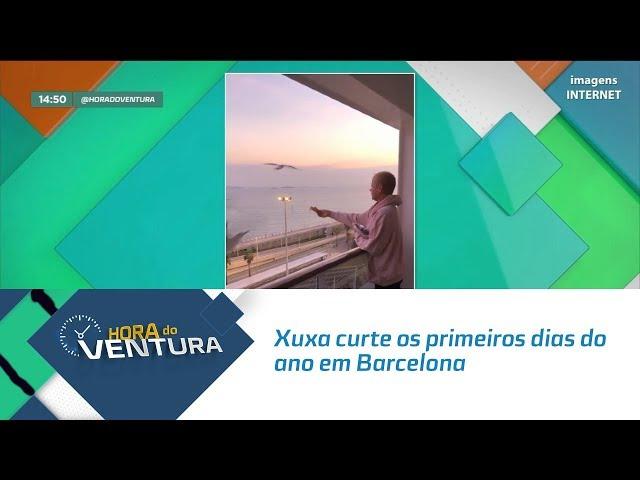 Xuxa Meneghel curte os primeiros dias do ano em Barcelona - Bloco 02