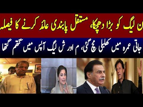 PTI led Government is going to banned PMLN permanently.Nawaz Sharif,Ayaz Sadiq,Maryam nawaz.ShahbazS