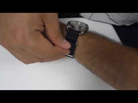 How To Buckle A NATO Strap That's Too Long-Tutorial