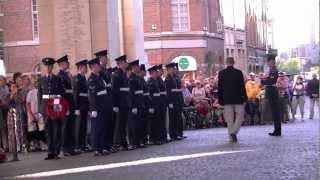 Last Post Menin Gate - RAF airmen - Eddie Merckx - Luc Dehaene - Ieper 25 juli 2012