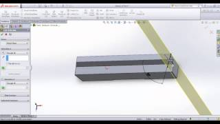 Drawing Colt 1911 with Solidworks - Tutorial Part 22 - Ejector