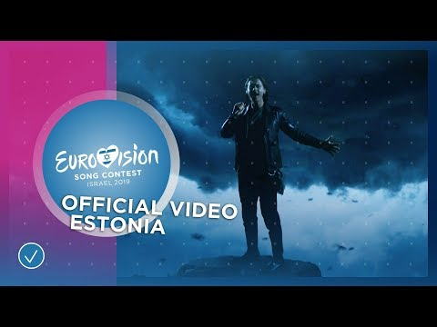 VIDEO Letra/Lyrics - Storm - Victor Crone - Estonia 🇪🇪 - Official Music Video - Eurovision 2019