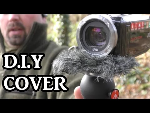 DIY Windproofing for Camera Microphone (better outdoor filming)