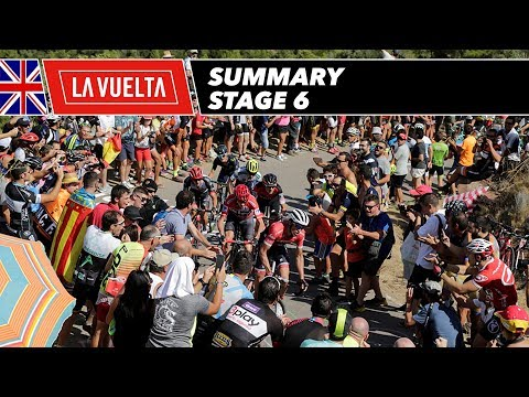 Summary - Stage 6 - La Vuelta 2017
