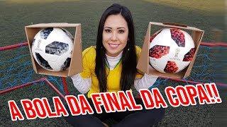 GANHEI A BOLA COM CHIP DA FINAL DA COPA DO MUNDO!!