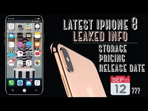 iPhone 8 FINAL Release Date, Price & Storage Revealed