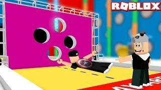 Vola attraverso il buco o perderai! - Roblox Hole in the Wall con Panda